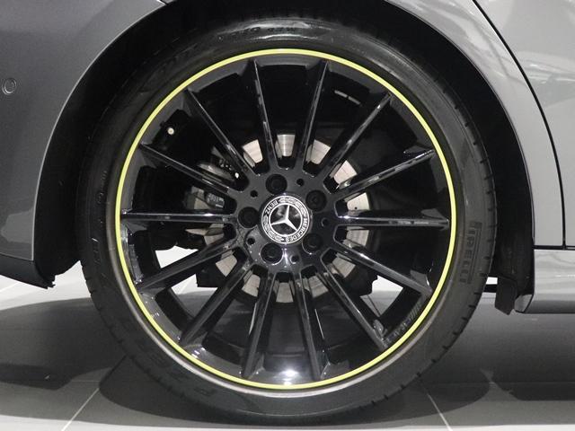 A180 エディション1 限定車 ブラックペイントAMG19インチAW ナイトPKG ブラックエグゾーストエンド マルチビームLED 全方位カメラ アドバンスドサウンド レザーDINAMICA(グリーンステッチ) HUD(11枚目)