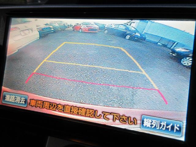 バックカメラを装備しておりますので安全にバックする事が可能となっております♪バックが苦手な方でも安心して駐車する事が出来ますよ♪安全性も◎なので重宝しますね♪画面もクリアで快適です♪
