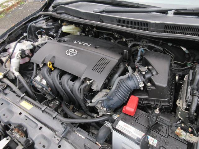 エンジンはタイミングチェーンを使用しているので10万km毎のタイミングベルトの交換も必要がありません♪エンジンに異音などもなく吹けも良いです♪