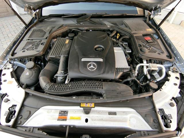 C200アバンギャルド AMGライン ダイヤモンドシルバーメタリック レーダーセーフティPKG AMG18インチAW 取説・新車時保証書有 記録簿3枚(37枚目)