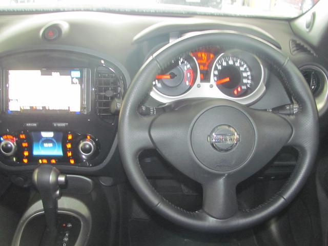 日産 ジューク 15RX タイプV  社外メモリーナビ フルセグTV