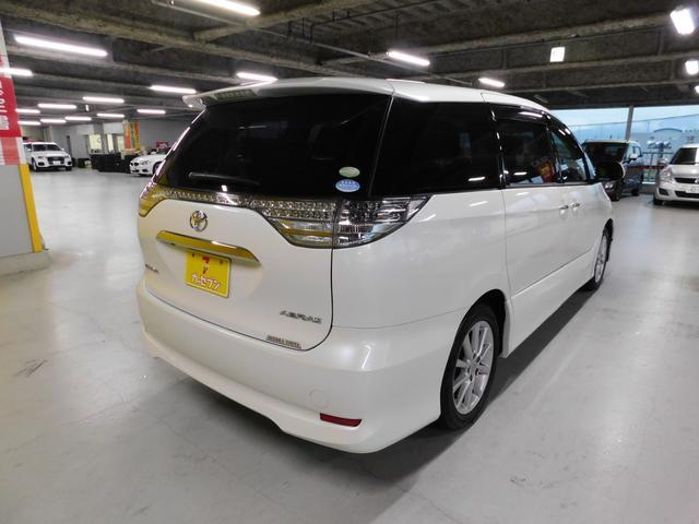 トヨタ エスティマ 2.4アエラス Gエディション フリップモニタ 純正ナビ