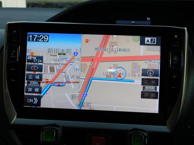 ハイブリッドGi 10型ナビ・12.8型後席モニター フルTV バックカメラ 両側電動スライドドア 車高調 クルコン レザーシート シートヒーター 純正15AW スマートキー(3枚目)