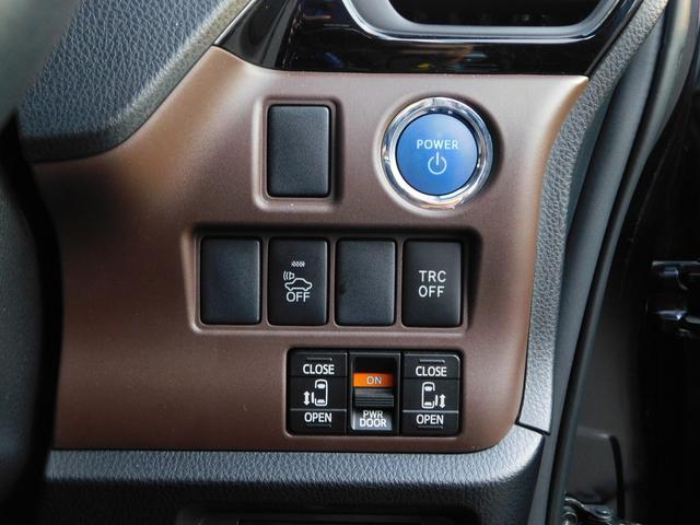 ハイブリッドGi 10型ナビ・12.8型後席モニター フルTV バックカメラ 両側電動スライドドア 車高調 クルコン レザーシート シートヒーター 純正15AW スマートキー(7枚目)