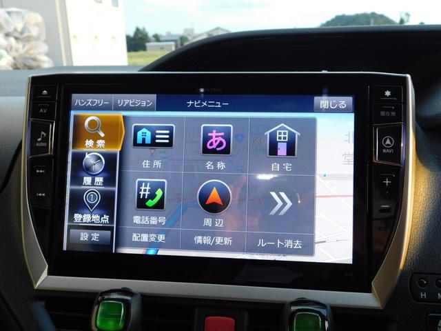 ハイブリッドGi 10型ナビ・12.8型後席モニター フルTV バックカメラ 両側電動スライドドア 車高調 クルコン レザーシート シートヒーター 純正15AW スマートキー(22枚目)
