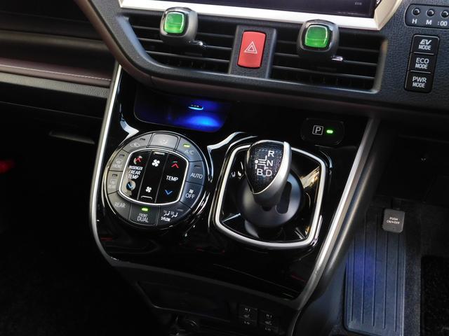 ハイブリッドGi 10型ナビ・12.8型後席モニター フルTV バックカメラ 両側電動スライドドア 車高調 クルコン レザーシート シートヒーター 純正15AW スマートキー(26枚目)