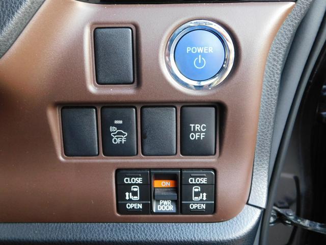ハイブリッドGi 10型ナビ・12.8型後席モニター フルTV バックカメラ 両側電動スライドドア 車高調 クルコン レザーシート シートヒーター 純正15AW スマートキー(33枚目)