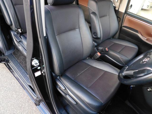 ハイブリッドGi 10型ナビ・12.8型後席モニター フルTV バックカメラ 両側電動スライドドア 車高調 クルコン レザーシート シートヒーター 純正15AW スマートキー(37枚目)
