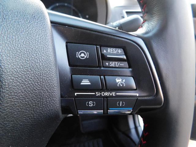 1.6STIスポーツアイサイト 純正8インチナビ フルセグTV 革シート パワーシート シートヒーター 衝突軽減ブレーキ 追従クルコン LEDオートライト バックカメラ デジタルルームミラー(29枚目)