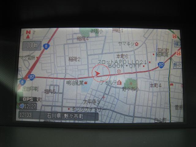 ホンダ オデッセイ M 純正インターHDDナビTV Bカメラ 車高調 革シート