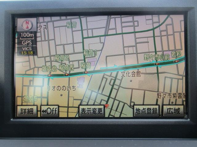 HS250h バージョンI 純正レーザーシート ETC(13枚目)