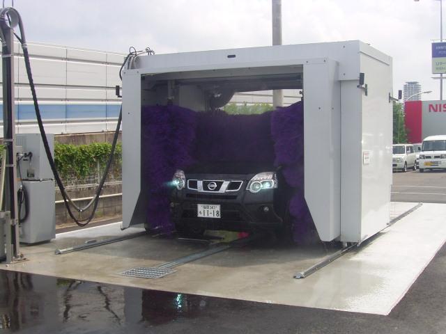 洗車機も完備しています。