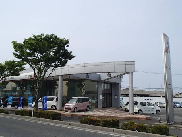 日本海三菱自動車販売(株) クリーンカー二本木の店舗画像