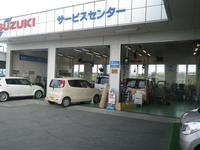 サービス工場では、お客様の愛車をまごころ込めて点検整備いたします。
