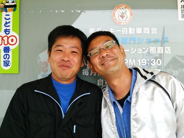 販売部 営業課 /新垣亨(左)・東里謙一(右)