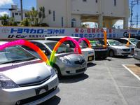 軽自動車、コンパクトからミニバン、ハイブリッド車など豊富に展示しています