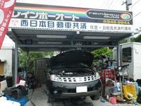 ガレージです♪車検・整備お任せ下さい。購入後も安心の車検整備できます♪
