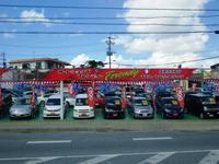 赤い看板が目印です。グーネット沖縄より無料通話あります。0066-9705-661002