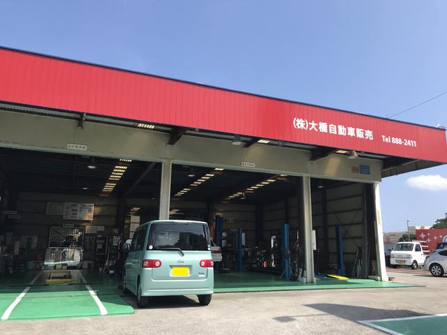 工場併設で安心!整備・車検・鈑金・など、ベテランのスタッフが多数在籍!ご相談下さい。