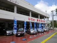 豊富な室内展示場、トヨタの安心U-Carを多数展示しております。