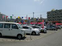 西原の中古車街道 「丸仲オート」の看板が目印です♪ JU適正販売店です。