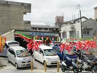 沖縄の中古車販売店なら我謝車店(がじゃしょうてん)