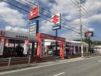 国道329号沿いにございます。在庫は常時50台以上!お気に入りの車を見つけてください!