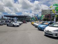 広大な展示場では常時150台以上の展示車両が!!お気に入りの一台にきっと出会えます。