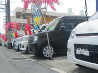 ラインナップは軽自動車!小回りが利いて低燃費の沖縄でのスタンダードです!