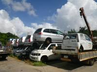部品取り車も様々な車種が御座います。まずはお気軽にお越し下さい。