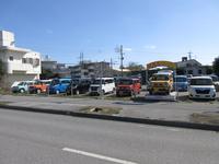 沖縄の中古車販売店 共栄自動車 阿波根展示場