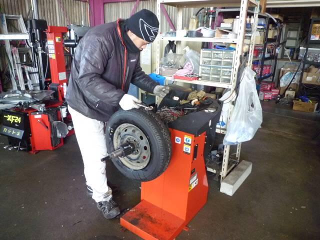 タイヤ交換だけでもOKです!