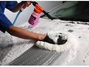 泡ムートン洗車&撥水コーティング