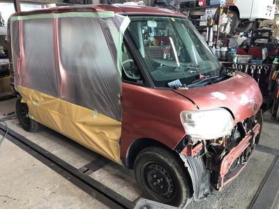 車の修理もお任せください!