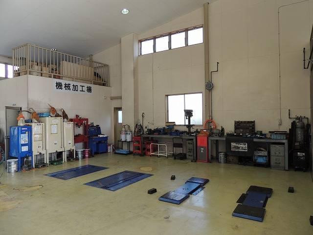 ☆2008年3月に整備工場をリニューアルいたしました。