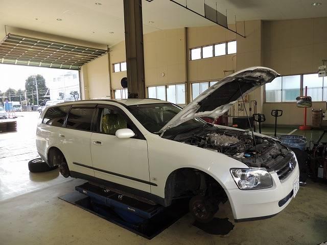 車検の際、交換部品が出た場合は必ずお客様の了解をえてから交換作業を行っております。