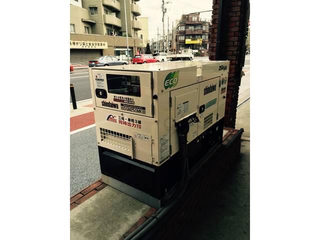 災害時も給油可能自家発電設備!!