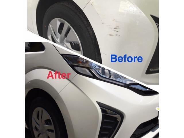 小さなキズ・ヘコミから保険対応の修理まで板金塗装は自工場でキレイに修理します。