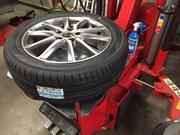 ホイール付きはもちろん、タイヤ組換えも可能です!