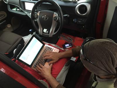 多数の車種に対応のコンピュータ診断機
