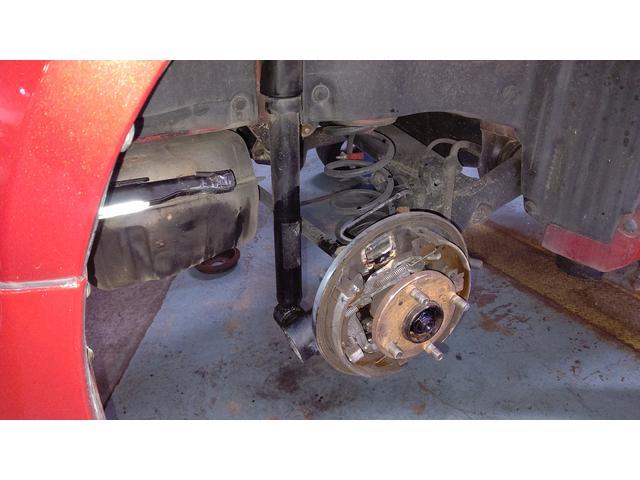 スイフト 車検でブレーキオイル漏れにより修理