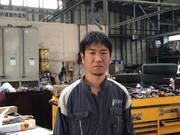 整備スタッフ 自動車検査員 武田 純孝