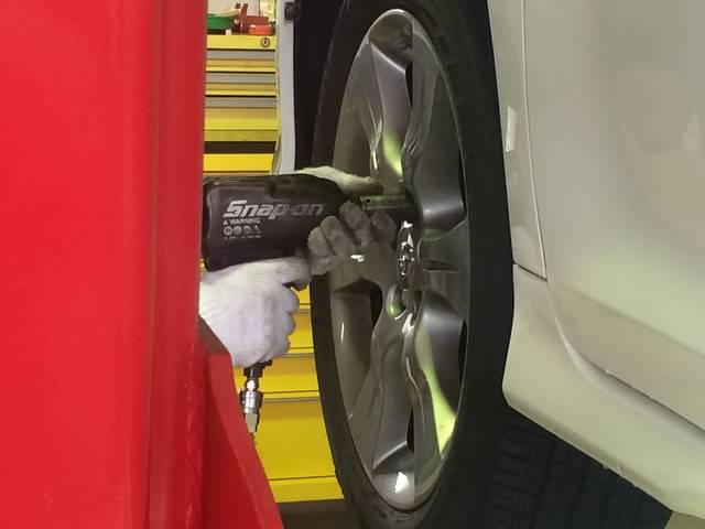 タイヤの交換等もお任せ下さい。