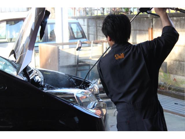 エンジン内部のスチーム洗浄サービスも行っております!