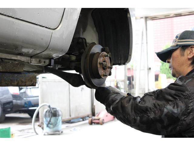 ブレーキパットなどの修理も確りと点検交換致します!