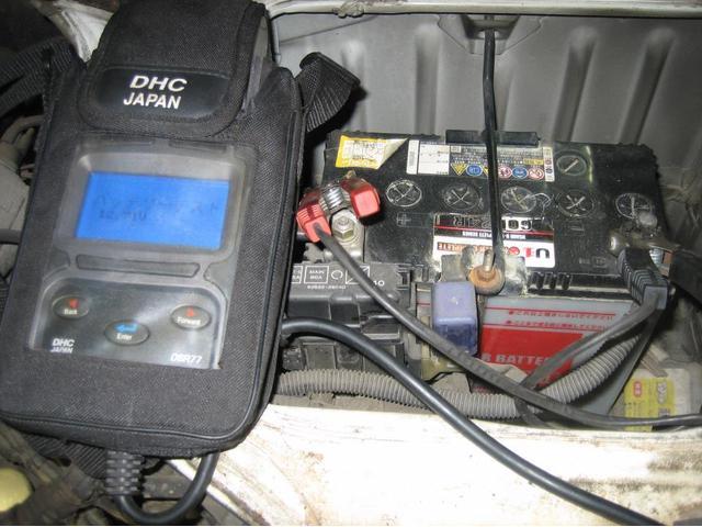 電送品の使用頻度や走行状況によっては急にバッテリーが上がってしまう事があります。