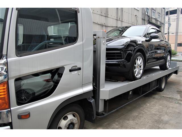 自社でセーフティローダー(積載車)を完備しておりますので、お客様の万が一にも駆けつけます。