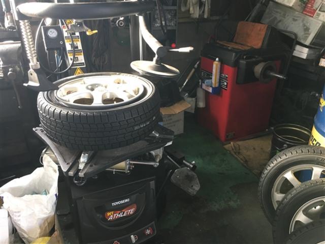 20インチ以上のタイヤの交換も可能です!