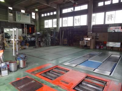 指定工場と特認一種の県下有数の設備です。