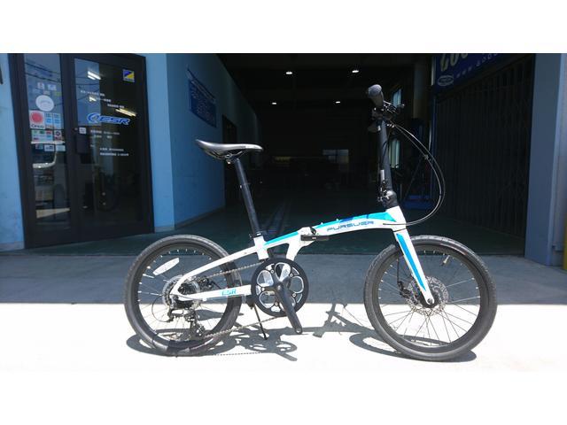 自社で開発・販売している折り畳み自転車『パーサー』です。